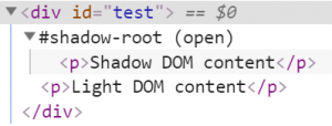 Copy Light DOM into Shadow DOM