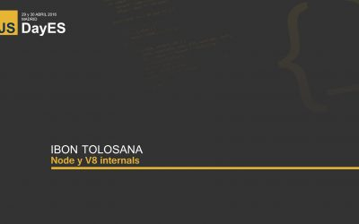 Node y V8 internals por Ibon Tolosana