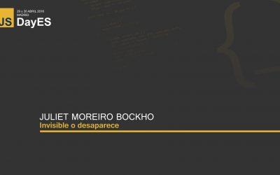 Invisible o desaparece por Juliet Moreiro Bockhop