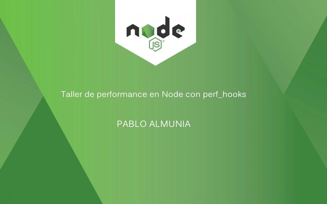 Taller del API Performance Timeline