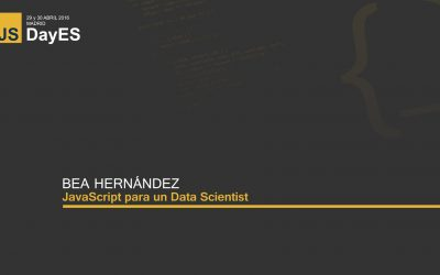 JavaScript para un Data Scientist por Bea Hernández