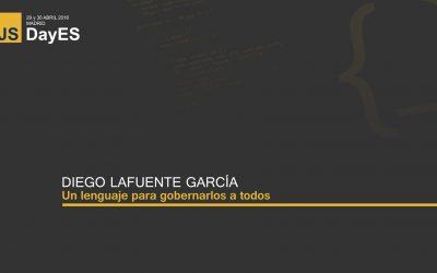 Un lenguaje para gobernarlos a todos por Diego Lafuente Garcia