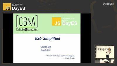 ES6 Simplificado por Carlos Blé