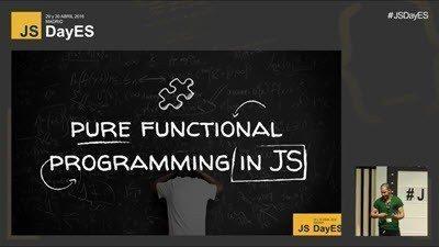 Programación funcional pura en JavaScript por Anler Hernández